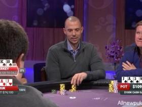 蜗牛扑克:Matt Berkey在Poker After Dark对局遭受重创