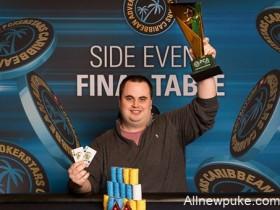 蜗牛扑克:Chris Kruk赢得PCA $25,000豪客赛冠军