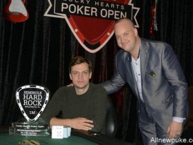 蜗牛扑克:Stefan Schillhabel斩获SHRPO $50k超高额豪客赛冠军