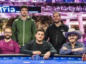 【蜗牛扑克】美国扑克公开赛主赛事决赛桌:丹牛强势晋级!
