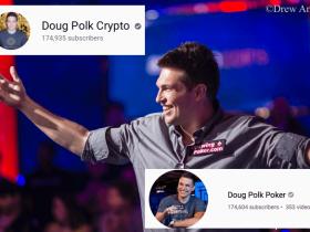 蜗牛扑克:Doug Polk的加密货币频道订阅量超过扑克频道