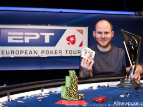 蜗牛扑克:Sam Greenwood赢得PS蒙特卡洛站EPT €100K超高额豪客赛冠军