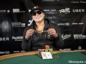 【蜗牛扑克】Tommy Nguyen取得巨额筹码赛冠军,入账$1,037,451