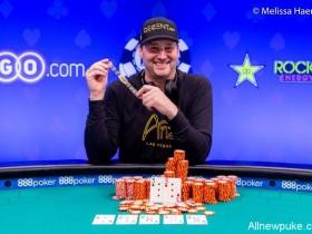 【蜗牛扑克】Phil Hellmuth拿下第15条金手链,王者终将有传奇!