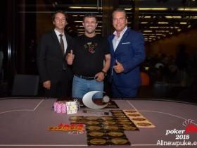 【蜗牛扑克】帝王娱乐场老板Leon Tsoukernik取得EM超级豪客赛冠军,奖金€370,000