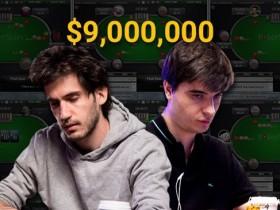 【蜗牛扑克】在线上共斩获900万美元的俩基友