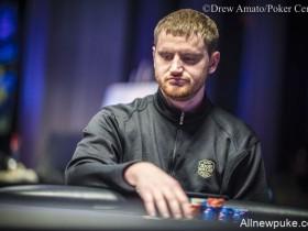 【蜗牛扑克】David Peters暂时领先扑克大师赛$100K主赛事!