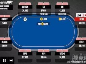【蜗牛扑克】牌局分析 | 枪口位置16BB的TT要不要翻前全压?