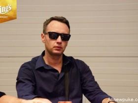 【蜗牛扑克】WSOPE:Wojciech Wyrebski领跑终极10强
