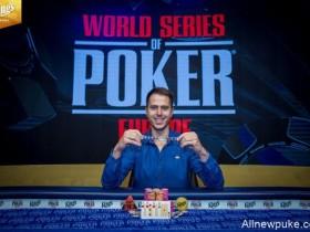 【蜗牛扑克】Norbert Szecsi赢得WSOPE第6项赛事的冠军