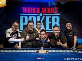【蜗牛扑克】WSOPE:Anson Tsang赢得 €2,200 PLO冠军,入账€91,730