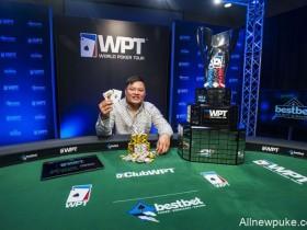 【蜗牛扑克】Tony Tran赢得WPT bestbet Bounty Scramble冠军!!!