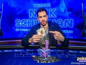 【蜗牛扑克】Nick Schulman赢得2019 USPO $25,000八项混合锦标赛冠军