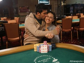 【蜗牛扑克】扑克情侣Ashley Sleeth & Jesse Sylvia在拉斯维加斯双双斩获冠军!