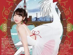 【蜗牛扑克】AKB48柏木由纪和插画家进行写真插画奇跡合作