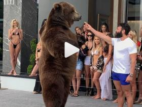 【蜗牛扑克】Dan Bilzerian拿熊娱乐被PETA指责,霸气回怼让对方瞬间语塞