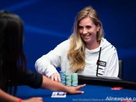 【蜗牛扑克】EPT蒙特卡洛主赛:女玩家Evy Widvey Kvilhaug从€55到€27,680的精彩演绎