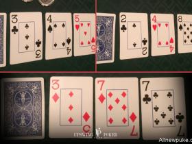 【蜗牛扑克】在不利位置时,你如何在小牌翻牌面获胜?