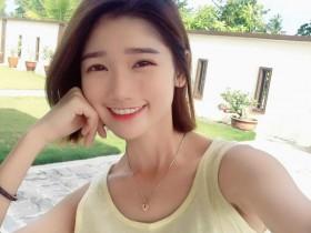 【蜗牛扑克】小清新正妹Youtuber elaine蔡蔡蔡 甜美笑容引宅男暴动