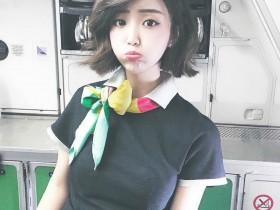 【蜗牛扑克】长荣空姐正妹Chiaro Chen 比基尼美女阿C短发气质迷人