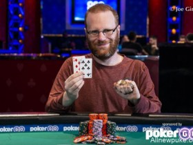 【蜗牛扑克】Adam Friedman蝉联WSOP $10,000荷官选择锦标赛冠军!