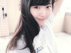 【蜗牛扑克】校园女神陈予婕 校服美女清纯可爱令人想恋爱