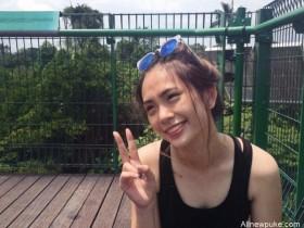 【蜗牛扑克】新加坡正妹Jamie Lau 甜美迷人微笑超疗愈