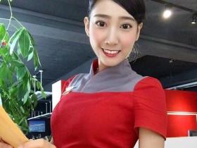 """【蜗牛扑克】""""最美女教师""""郑诗璇变身空姐正妹 性感空姐身材前凸后翘"""