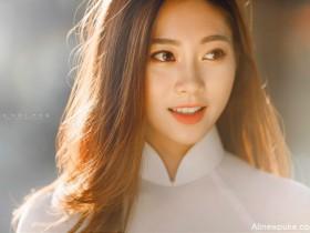 【蜗牛扑克】越南校花女神Thai Thi Huyen Trang 气质美女穿旗袍宛如仙女下凡