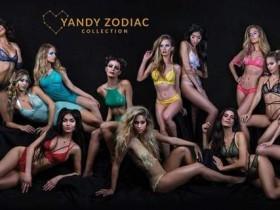 【蜗牛扑克】品牌内衣Yandy成人版12星座内衣 性感内衣秀令人血脉喷张