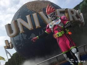 【蜗牛扑克】USJ的假面骑士Cosplay 超级玩家Coser假面骑士像USJ隐藏人物