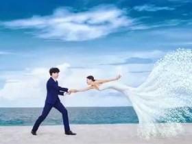 【蜗牛扑克】多张创意奇迹婚纱照  是如何让普通元素变的高级