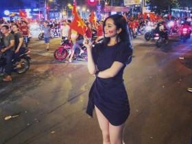 【蜗牛扑克】越南大长腿美女Nguyễn Hoàng Yến Ngọc 开叉装豪乳霸气侧漏