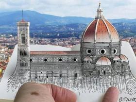 【蜗牛扑克】创意3D明信片 手绘与摄影相结合令人回味无穷