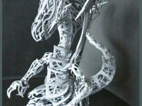 """【蜗牛扑克】""""青眼白龙""""镂空纸雕 神级艺术作品令人叹为观止"""