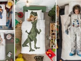 """【蜗牛扑克】荷兰寝具品牌SNURK3D被套 """"造梦者""""让你实现超级英雄梦想"""