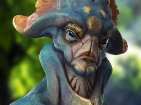 【蜗牛扑克】人类眼中的外星人长相 外星生物诡异外形令人毛骨悚然