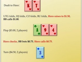 【蜗牛扑克】六人桌常规局典型牌例100手-10