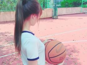 【蜗牛扑克】运动正妹娜娜Nana Bebu 打篮球活力四射姿势100分