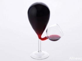 【蜗牛扑克】新奇特红酒杯Glass Tank 喝酒不用自己倒