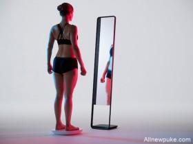 【蜗牛扑克】智慧型全身镜Naked 科技魔镜准确追踪你的身形与体脂