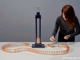 【蜗牛扑克】创意多米诺骨牌游戏 电路回圈游戏重新认识回路技术