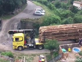 【蜗牛扑克】卡车司机证明给你看 再狭窄的桥只要面积足够也开过去(视频)