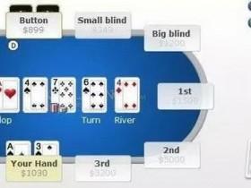 【蜗牛扑克】AX牌中A遇到被动的对手怎么打?