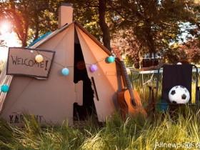 【蜗牛扑克】KarTent设计纸帐篷 厚纸板制成帐篷遮风避雨没问题