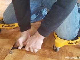 【蜗牛扑克】装修护膝神器 360度旋转安全又能减轻负担