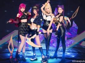 【蜗牛扑克】波利花菜园Cosplay虚拟女团歌曲《POP/STARS》 翻跳团体还原MV超洗脑