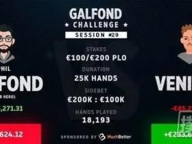 【蜗牛扑克】Galfond挑战赛:Phil Galfond有希望扭转为盈