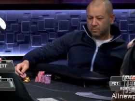 【蜗牛扑克】人间惨剧!大老板Rob Yong遭遇冤家牌损失惨重,竟然扔掉了本来能赢的牌!
