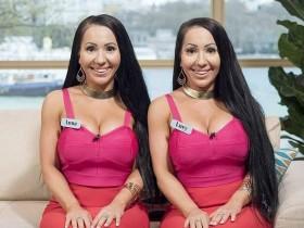 【蜗牛扑克】双姐妹花飞 双胞胎姐妹共享男友想结婚